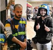 الصحفي احمد ابو حسين
