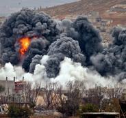 التحالف الدولي يقصف سوريا