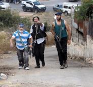 مستوطنون يحاولون السيطرة على اراضي في الخليل