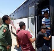 الارتباط العسكري يؤمن خروج المراقبين والطلبة من دير أبو مشعل لقاعات