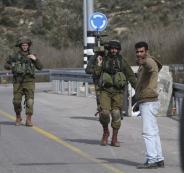 حواجز اسرائيلية قرب رام الله