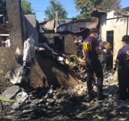 طائرة فلبينية تسقط على منزل وتقتل 7 أشخاص