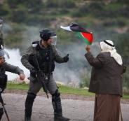 اصابات في قمع الاحتلال لمسيرة في الاغوار