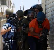 الانتهاكات الاسرائيلية بحق الصحفيين