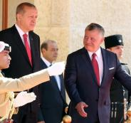 اردوغان في الاردن