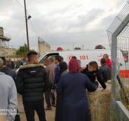 اصابة عمال فلسطينيين قرب طولكرم