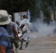 اصابات بقمع الاحتلال لمسيرة كفرقدوم