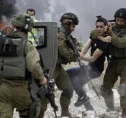 اسرائيل واعتقال الفلسطينيين