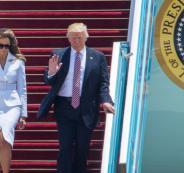 كلفة زيارة ترامب الى اسرائيل