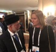 وزير الخارجية العماني وتسيبي ليفني