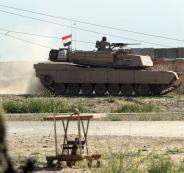 الجيش العراقي والحدود مع سوريا