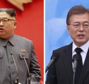 محادثات بين كوريا الجنوبية والشمالية