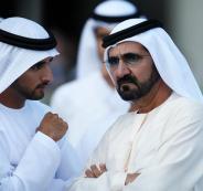 حاكم دبي والسياسيين العرب