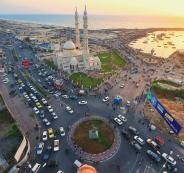 مشاريع بنية تحتية في غزة