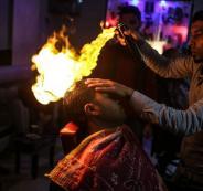منع تصفيف الشعر عن طريق النار
