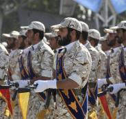 الحرس الثوري الايراني والدول الخليجية
