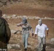 المستوطنون يهاجمون الفلسطينيين جنوب جنين