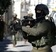 اصابة جنود اسرائيليين في رام الله