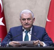 رئيس الوزراء التركي يهنئ الحمد الله بسلامته آملاً كشف الجناة