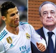 رونالدو يقرر الانتقال من ريال مدريد
