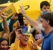 الرئيس البرازيلي وفيروس كورونا