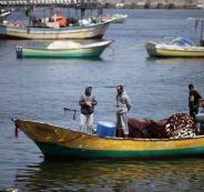 تفليص مساحة الصيد في غزة