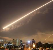 القصف الامريكي على سوريا