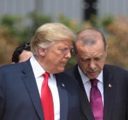 ترامب واردوغان وسوريا وليبيا