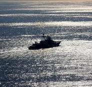 سفن حربية روسية في خليج عدن