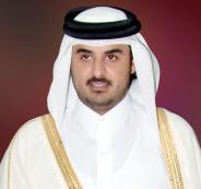 مفتي السعودية وأمير قطر