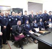 ضباط المختبر الجنائي يؤدون اليمين القانونية أمام وزير العدل