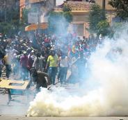 مقتل تونسي في احتجاجات ضد الحكومة
