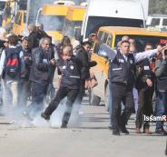 اصابة صحفيين فلسطينيين