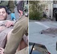 اطلاق النار على شاب فلسطيني في الخليل