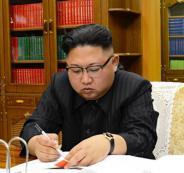 الرئيس الصيني والرئيس الكوري الشمالي