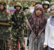 مسلمي الايغور والصين