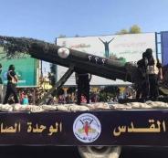صواريخ الجهاد الاسلامي واسرائيل