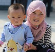 اطفال المسلمين في الصين
