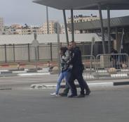 اعتقال فتاة فلسطينية على معبر قلنديا