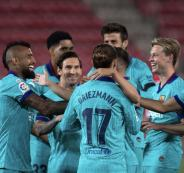 اصابة نجم نادي برشلونة