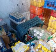 ضبط مواد تموينية منتهية الصلاحية في نابلس