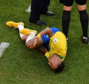 اصابة اللاعب البرازيلي نيمار