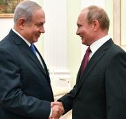 اسرائيل والقصف على سوريا وروسيا