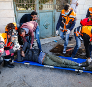 92 إصابة تعامل مع الهلال الأحمر منذ الصباح في الضفة وقطاع غزة