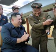 كوريا الشمالية تطلق النار