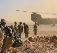 قاعدة امريكية في العراق