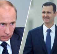 بوتين وبشار الاسد