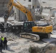 جرافات اسرائيلية تهدم في الخليل