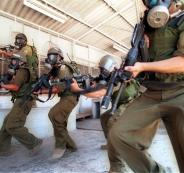 اقتحام السجون وضرب المعتقلين الفلسطينيين