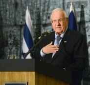 الرئيس الاسرائيلي والضم
